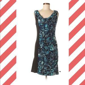 BCBGMAXAZRIA BLACK & Blue DRESS
